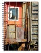 Retired Railroad Spiral Notebook