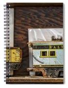 Retired Trains Spiral Notebook
