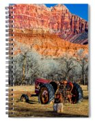 Retired With A View Spiral Notebook