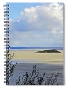 Retreating Tide Spiral Notebook