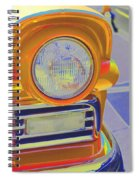Retro Auto Two Spiral Notebook