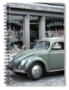 Retro Beetle Spiral Notebook
