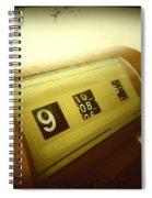 Retro Clock Spiral Notebook