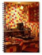 Retro Diner Spiral Notebook
