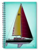 Retro Newport3 Spiral Notebook