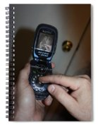 Retro Phone Spiral Notebook