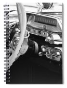 Retro Police Dash Spiral Notebook