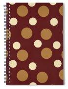 Retro Polka Dot Spiral Notebook