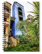 Retro Rainbow Spiral Notebook
