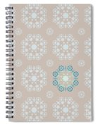 Retro Wallpaper Spiral Notebook