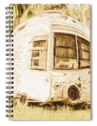 Retrod The Comic Caravan Spiral Notebook