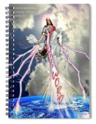 Return Of The King Of Kings Spiral Notebook