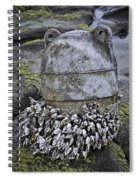 Returned From The Ocean Spiral Notebook