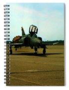 Returning Phantom Spiral Notebook