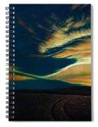 Returning To Tuscarora Mountain Spiral Notebook