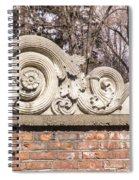 Reused Architectural Salvage Spiral Notebook