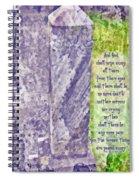 Revelation 21 4 Spiral Notebook