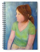 Reverie Of A Young Woman Spiral Notebook