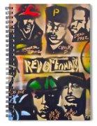 Revolutionary Hip Hop Spiral Notebook