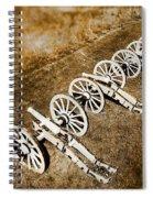 Revolutionary War Cannons Spiral Notebook