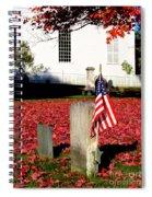 Revolutionary War Hero Spiral Notebook