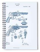 Revolver Patent E.t Starr Spiral Notebook