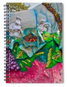 Rex Mardi Gras Parade II Spiral Notebook