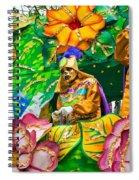 Rex Mardi Gras Parade X Spiral Notebook