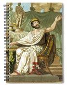 Rex Sacrificulus, Illustration Spiral Notebook