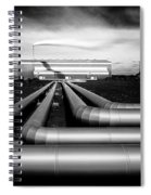 Reykjanesvirkjun Spiral Notebook