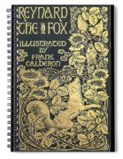 Reynard The Fox Spiral Notebook