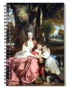 Reynolds' Lady Elizabeth Delme And Her Children Spiral Notebook