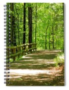 Wooded Path 15 Spiral Notebook