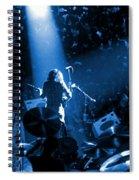 Rg #7 In Blue Spiral Notebook
