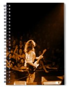 Rg #8 In Amber Spiral Notebook