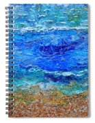 Rhapsody On The Sea Square Crop Spiral Notebook