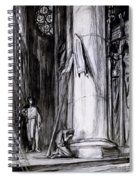 Rheims Cathedral, Scene From St Joan Spiral Notebook