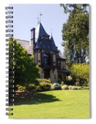 Rhine House At Beringer Winery St Helena Napa California Dsc1722 Spiral Notebook