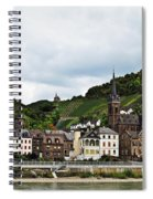 Rhine River View Spiral Notebook