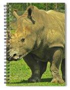 Rhino Look Spiral Notebook