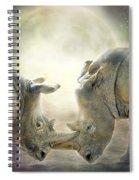 Rhino Love Spiral Notebook