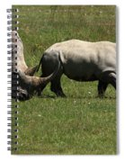 Rhinoceros Spiral Notebook