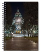 Rhode Island State House In Providence Rhode Island Spiral Notebook
