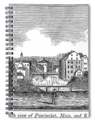 Rhode Island, Usa, 1839 Spiral Notebook