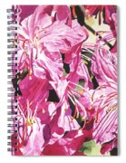 Rhodo Blossoms Spiral Notebook