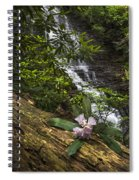 Rhododendron At The Falls Spiral Notebook
