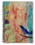 Rhythm And Blues Spiral Notebook