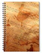 Rhythm And Rhyme Spiral Notebook
