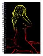 Rhythm Of Love 2 Spiral Notebook