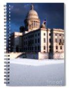 Ri State Capitol 1 Spiral Notebook